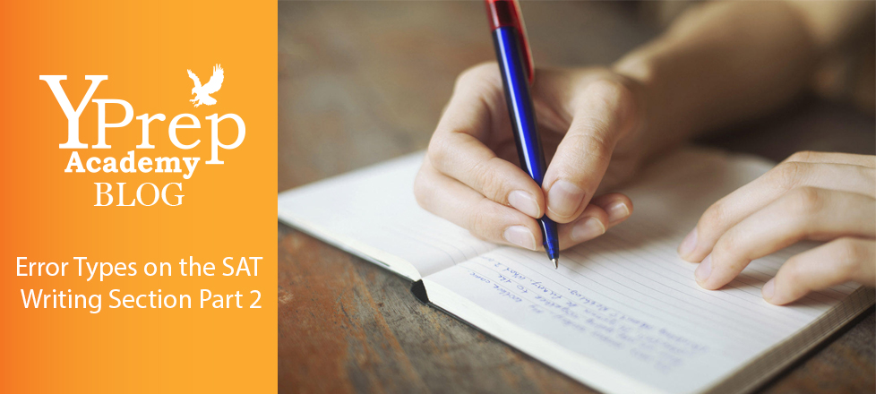 Error Types on the SAT Writing Section Part 2